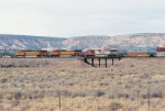 Crossing western New Mexico